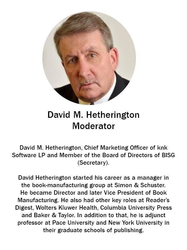 David M Hetherington - CMO knk Software LP
