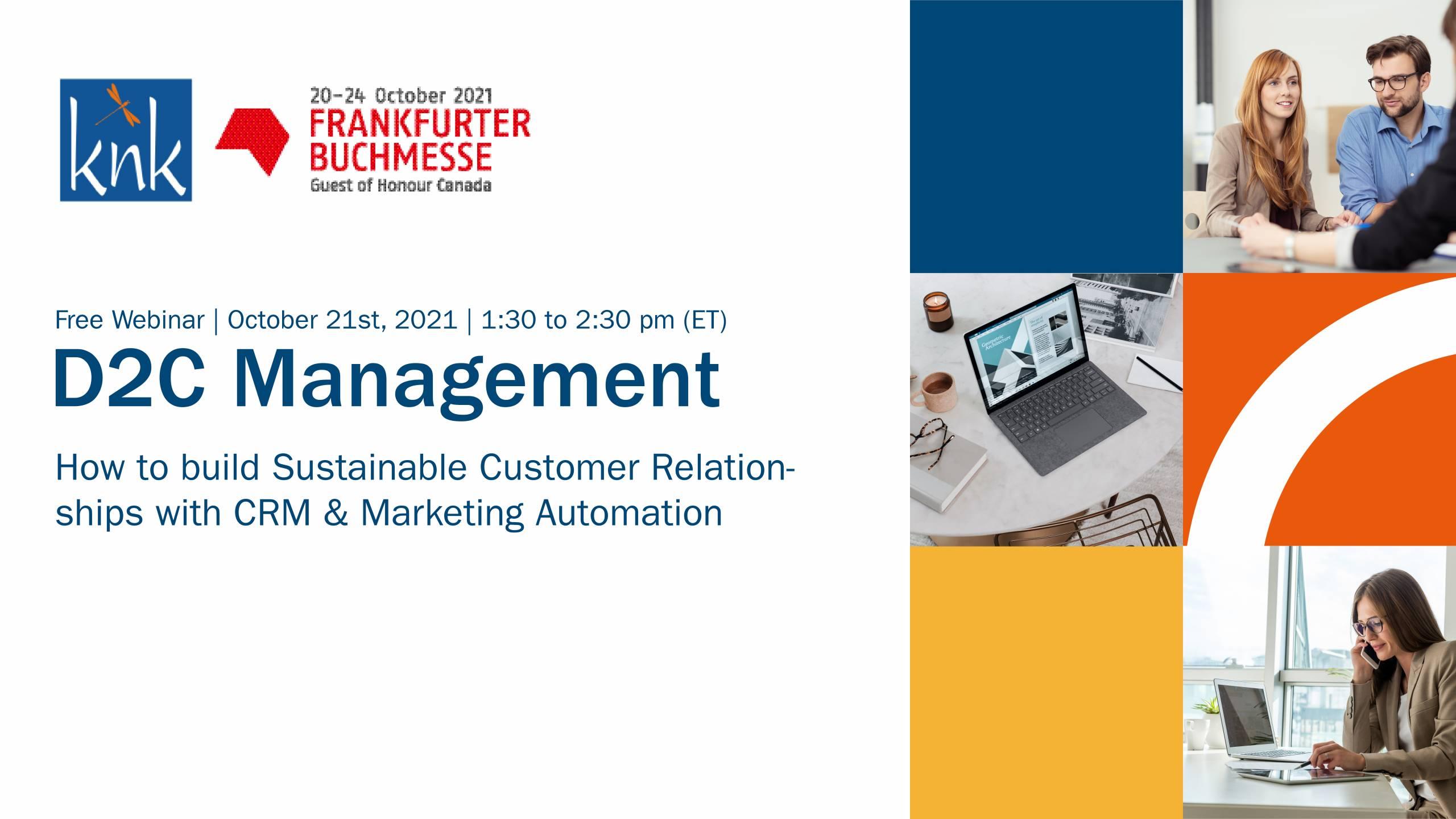 D2C Management Webinar FBM21