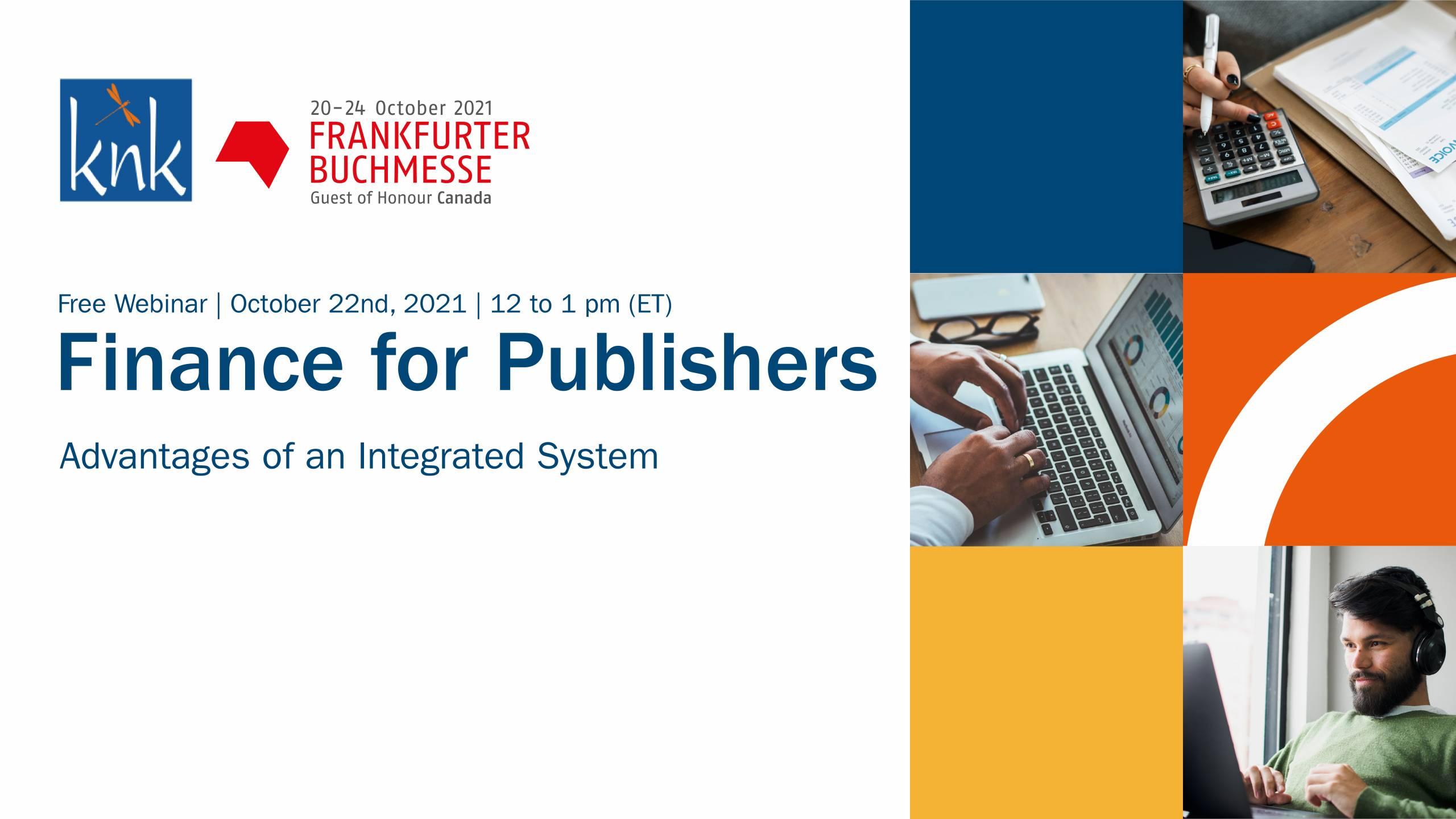 Finance for Publishers Webinar FBM21